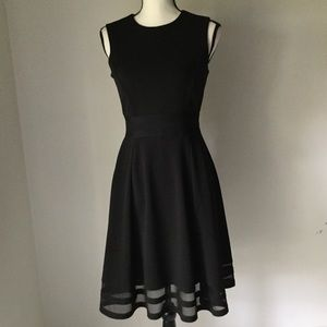 Calvin Klein black dress sleeveless size 2
